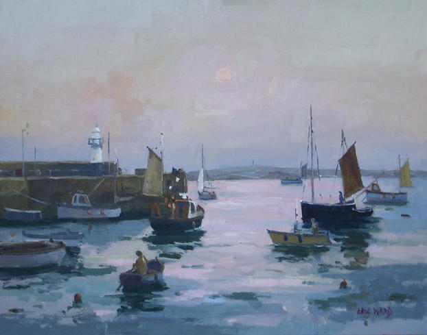 St Ives 20x24 inches oil on panel