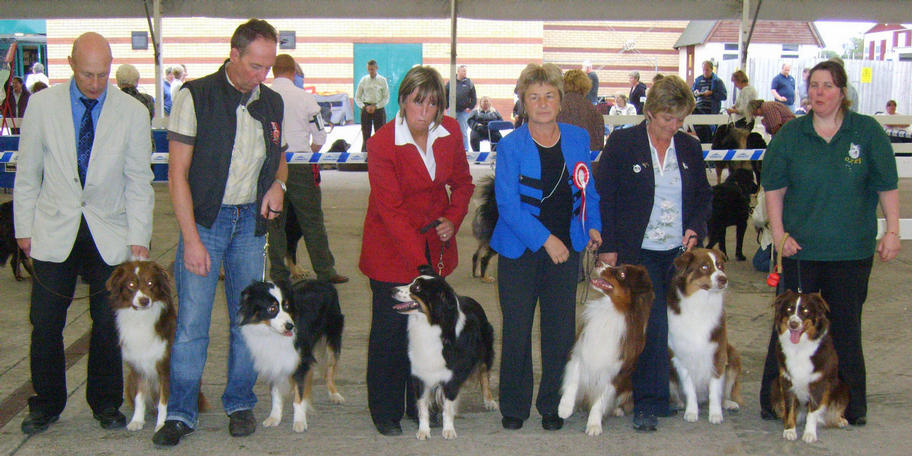 IN THIS PICTURE ARE DAVID TURNER WITH DOLLER DAVID WITH BEAR GLYNIS WITH CARLEY CAROL WITH DERBY MORAG WITH ROBBIE & NATALIE WITH ZENNIE