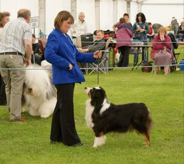 Carley and Glynis in the show Ring