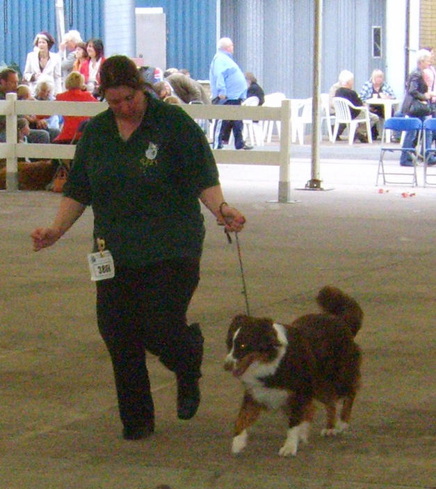NATALIE MOVING ZENNIE AT CITY OF BIRMINGHAM CHAMP SHOW SEPT 09