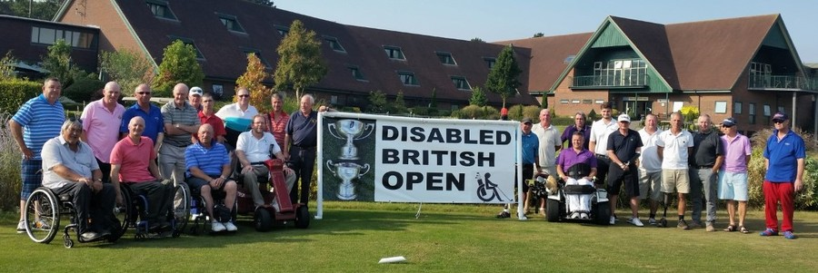 players on the first tee