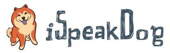 Logo for the iSpeakDog web site