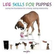 Front cover of the book 'Life Skills for Puppies'