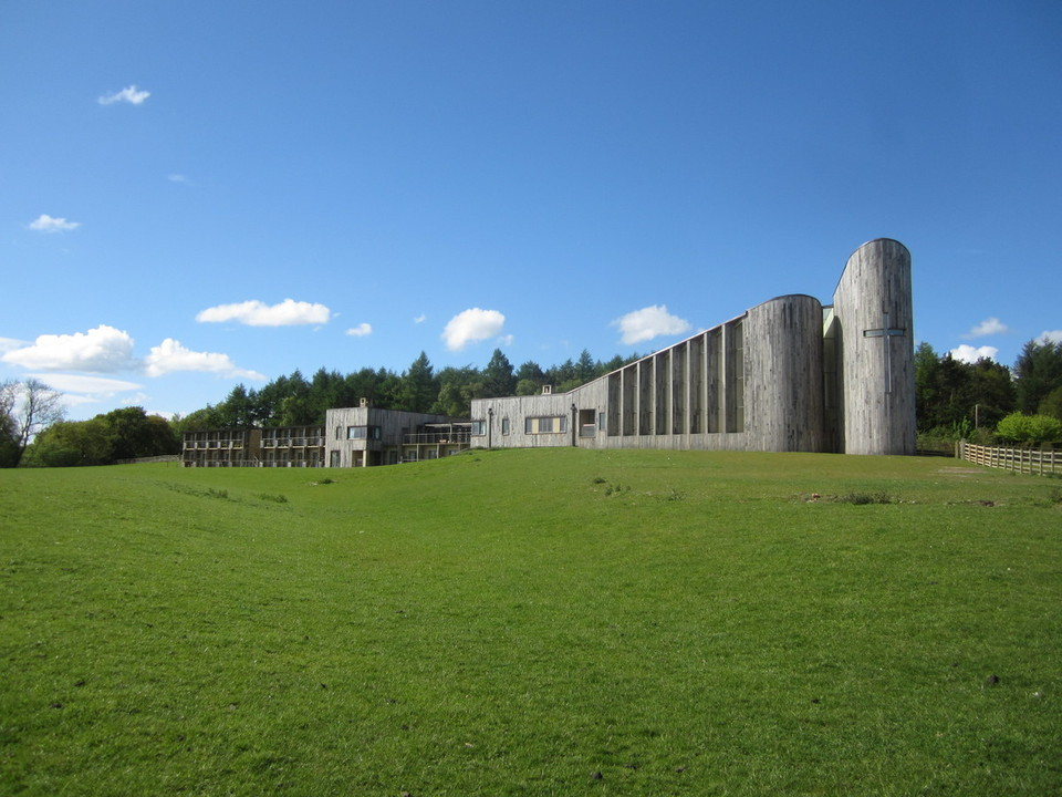 Photo of Stanbrook Abbey from the south