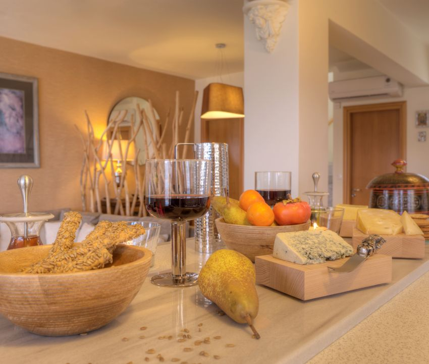 Dine in style at the very well equipped villa