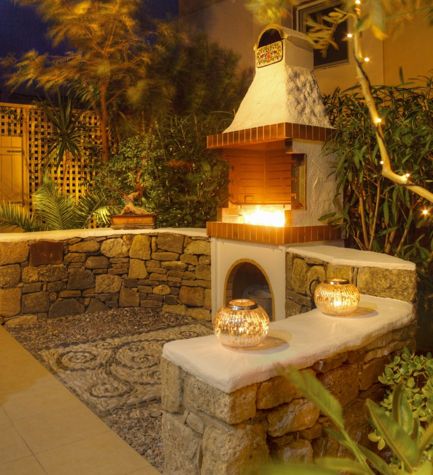 Villa Kalliopi has many extras - including outdoor bbq for al fresco dining
