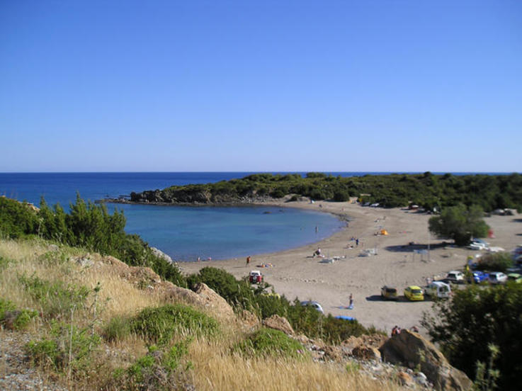 "The nearby,and ""secret"" Glistra Beach"