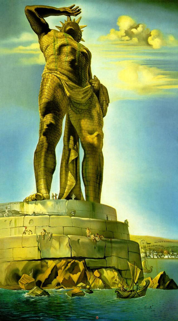 One of the Seven Wonders of the Ancient World: The Colossus of Rhodes