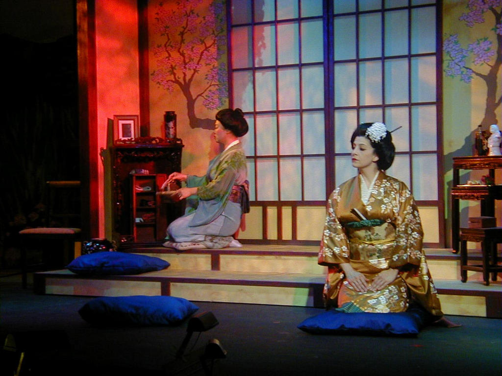 Sharon Maxwell Soprano as Cio-Cio-san in Madama Butterfly with Bayshore Lyric Opera