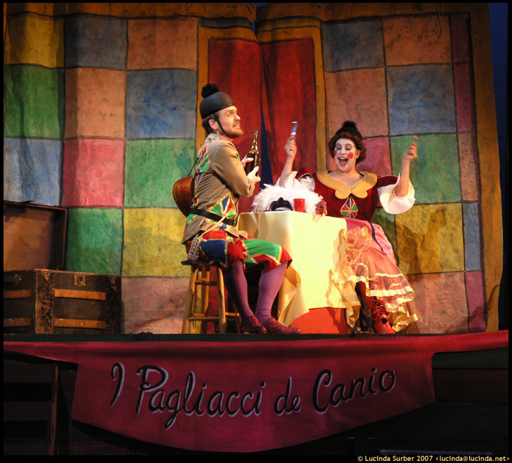 West Bay Opera Sharon Maxwell as Columbina in I Pagliacci