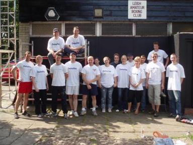 Deloittes volunteers