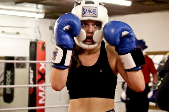 Messages amateur boxing girls remarkable, rather