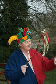 Chris the Lord of Misrule-he did some very clever things with his Balls on a Wand, and juggling etc!