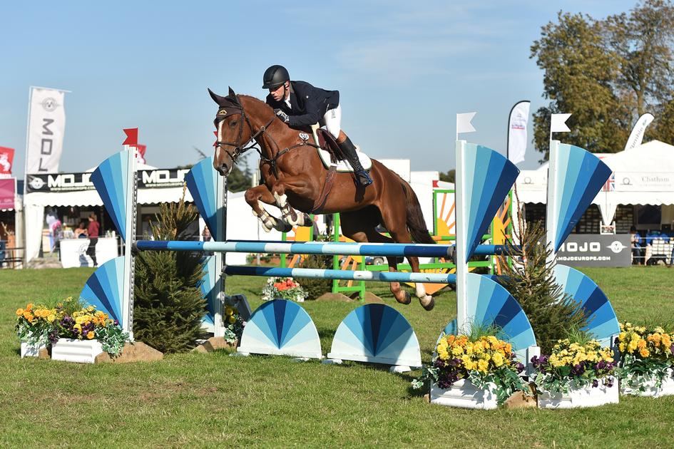 Safira (Katie) Show jumping Osberton Young Horse Championships 2018