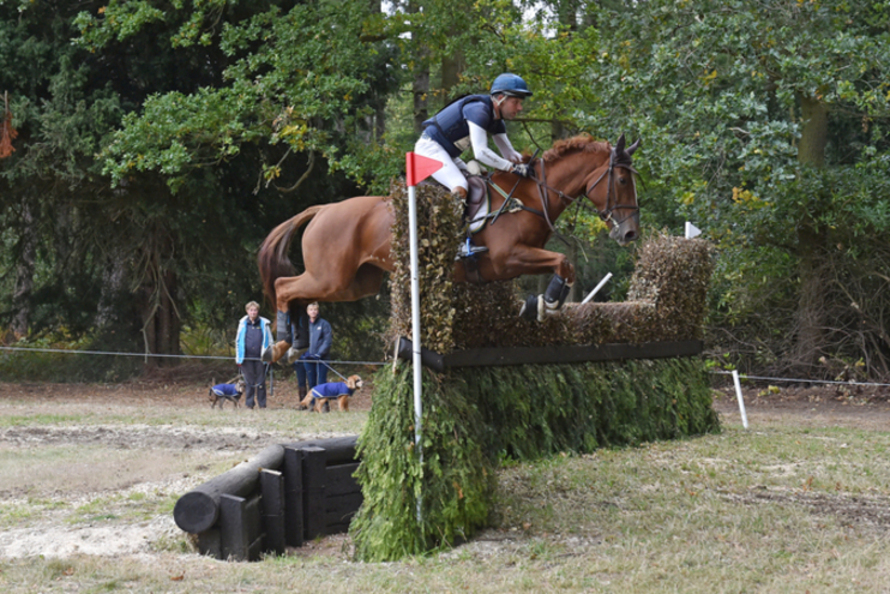 Safira & Carlos Parro British Eventing Young Horse Championships 2018 CIC YH 1*