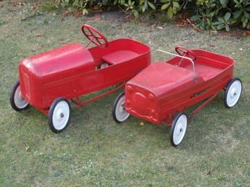 Vintage Tri-ang Pedal Cars