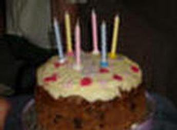 Vegan Birthday Cake on Vegan Birthday Cake Alicia Requested Carrot Cake