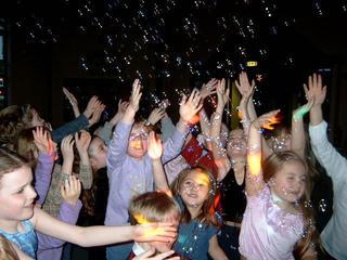 bubble machine kids party
