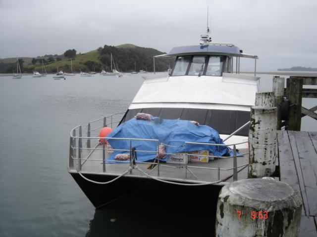 ferry  to camp bentzon