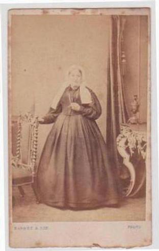 Ann Meadows née Cross in the 1850s