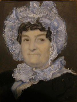 Portrait of the mother of Anne Cross, by James Meadows.