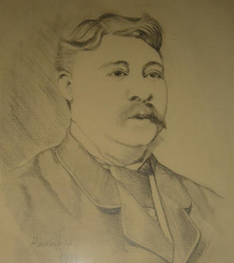 Self-portrait of Arthur Joseph Meadows