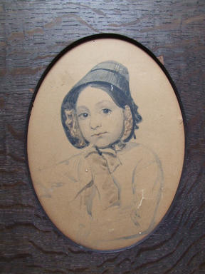 Frances Self aged about 14