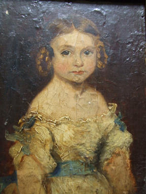 Frances Self aged about 6