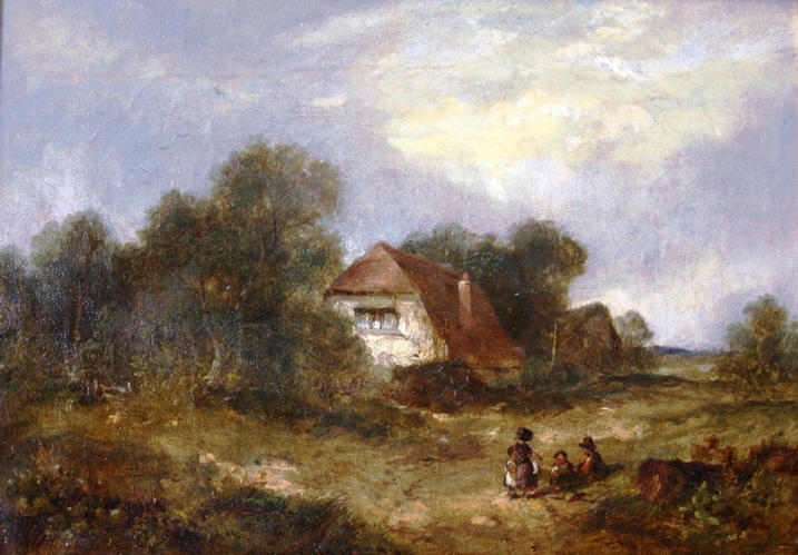 'Playing in a clearing' by James E.Meadows