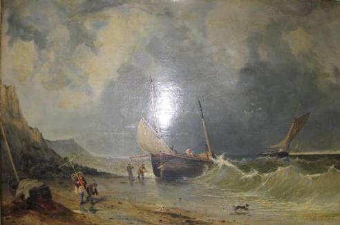 Sussex seascape 1859