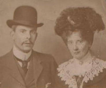 Wedding of Lawrence Meadows & Edith Jones
