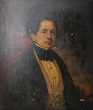 Self-portrait of James Meadows