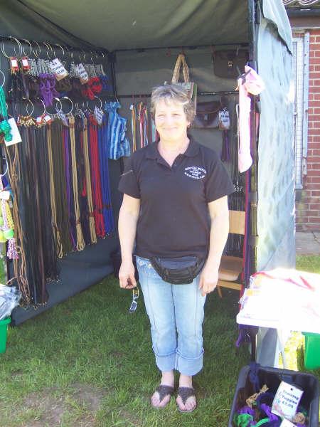 Ann & her stall