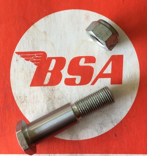 BSA WD B40 prop stand bolt and nut