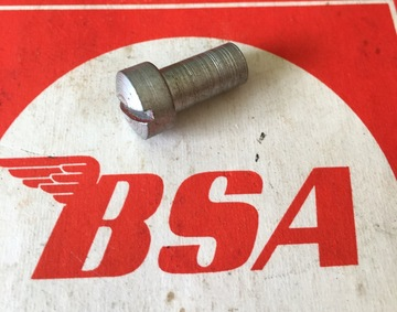 BSA WD B40 primary sleeved screw