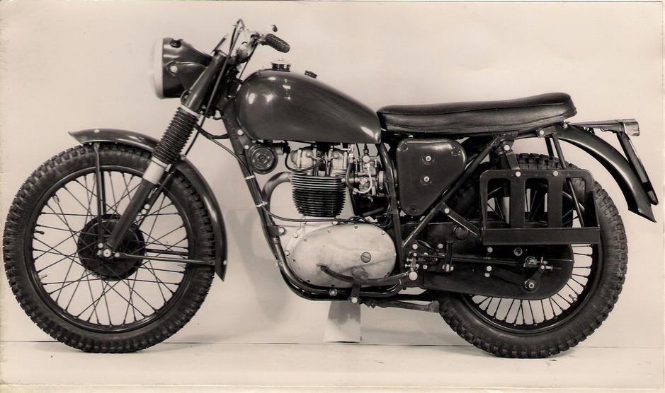 BSA WD B40 Prototype