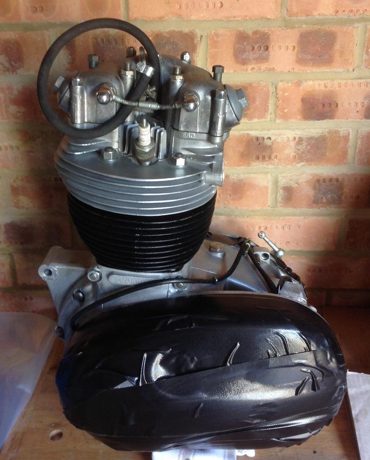 BSA WD B40 GN engine