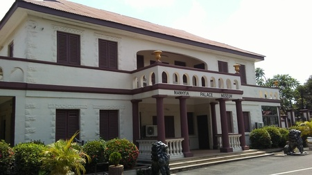 Manhyia Palace, Kumasi, Ghana -- Photo, Toby Green. Available at https://commons.wikimedia.org/wiki/File:Manhyia_Palace_Museum,_Kumasi,_Ghana.jpg
