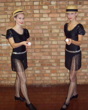Lauren and Katie, Tap duet