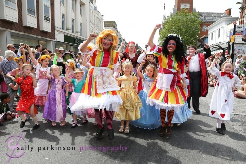 The Valentine School Of Dance, Best Colchester Carnival Entry Winners 2015