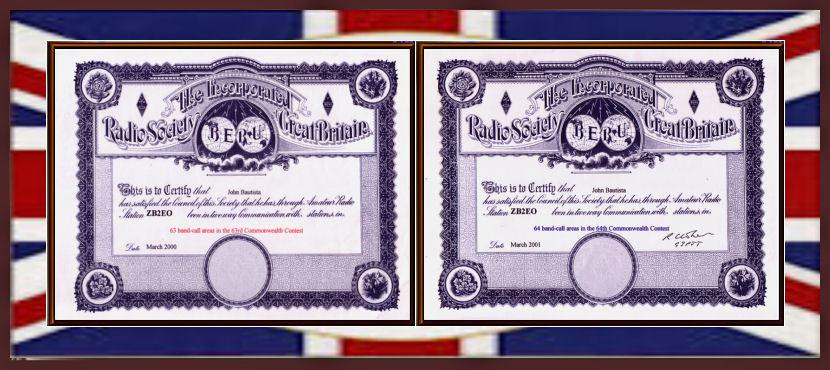 BERU CONTEST AWARDS _2000_2001
