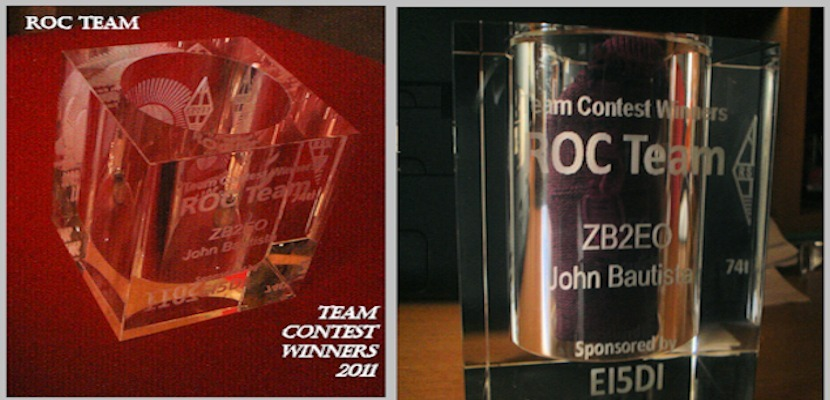 RSGB_Commonwealth Contest- ROC Team Award