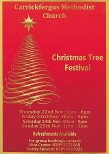 Flyer for Tree Festival