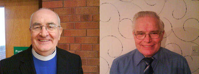 """Rev. Sam Clements & Rev. Derek Russell - two of our """"retired"""" ministers"""