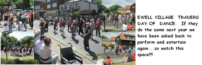 EWELL VILLAGE DAY OF DANCE DISPLAY