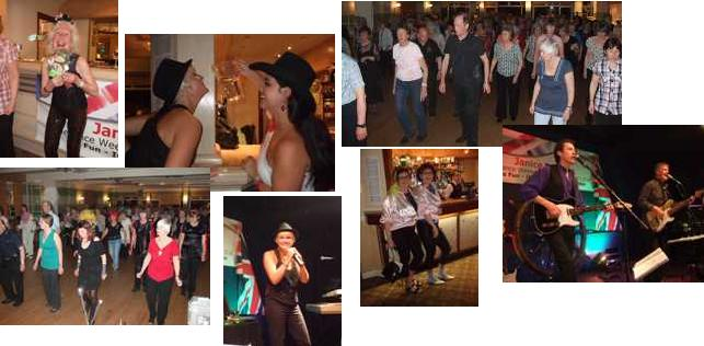 Snaps from our 2011 linedance weekend