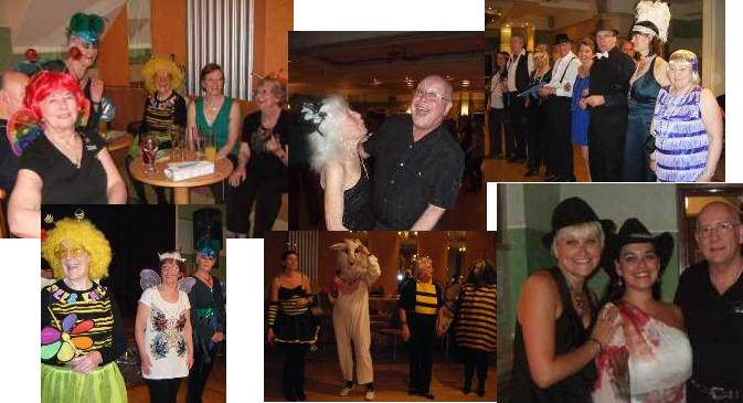Snaps from our 2011 linedance weekend at the Trouville
