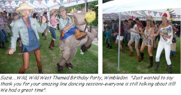 Wild West Themed Birthday.