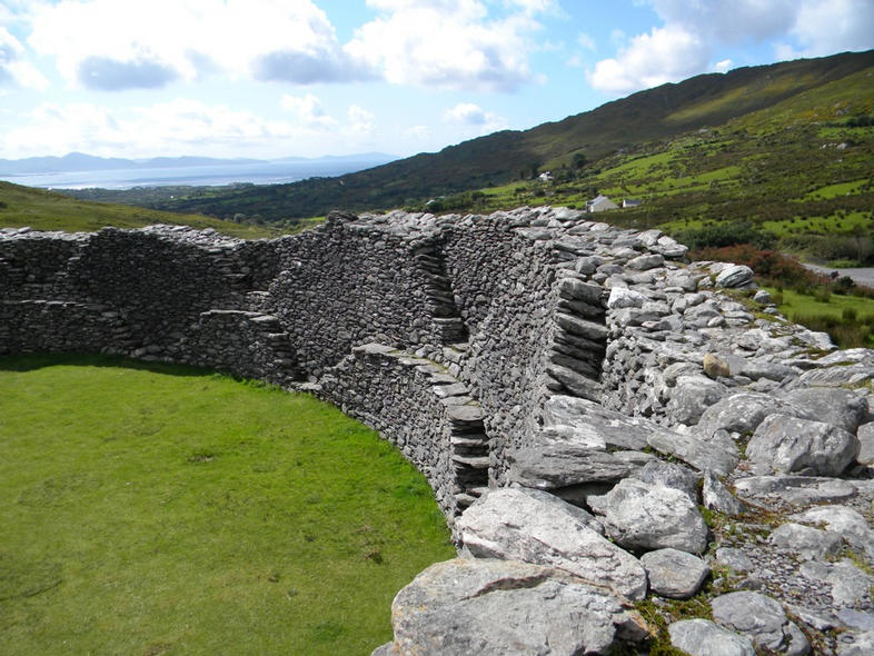 Inside Stague Fort