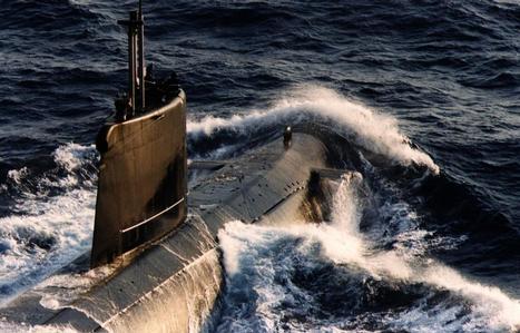Agosta submarine at sea